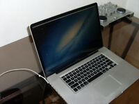 MacBook Pro 15 2.4 i5 750GB HD 4Gb Ram latest OSX & Logic Pro X