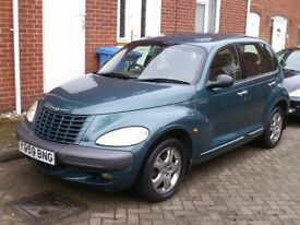 pt cruiser low mileage mot aug2018