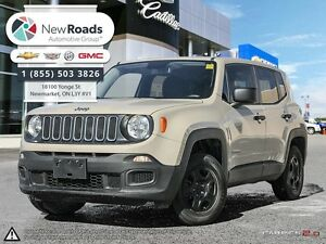 2015 Jeep Renegade Sport Sport, PWR GRP, ONE OWNER, NO ACCIDE...