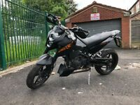 *REDUCED* 2010 KTM Duke 690 Black Enduro Naked - Petrol Single cylinder