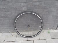 700c hybrid bicycle front wheel