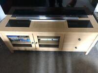 Matching solid oak furniture