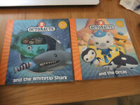 3 x Paperback Octonauts Books All For 50p