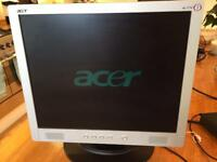 Acer LCD 17' monitor computer screen pc tv AL1714