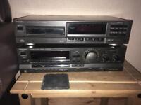 Technics radio and cd player