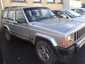 01 2.5td jeep Cherokee 4x4 with low miles