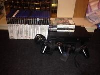 Ps2 , two controllers & 8 mb memory card +49 games for £1 Each