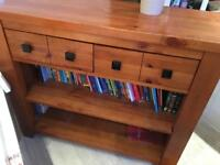 Immaculate NEXT Solid Oak Bookcase