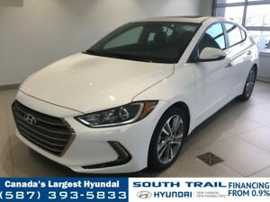 2017 Hyundai Elantra LIMITED - NAV, LEATHER, HEATED SEATS/WHEEL
