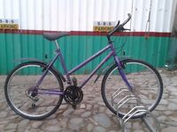 LADIES/TEEN GIRLS HYBRID BICYCLE . quality bike . Cleaned, Serviced, Warranty, EXTRA'S Ready at £75