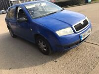 2002 SKODA FABIA 1.4 PETROL MANUAL CLASSIC 5 DOOR HATCHBACK MOT GOOD DRIVE CHEAP CAR NOT POLO CORSA