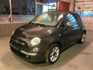 2016 Fiat 500C LOUNGE**VÉHICULE NEUF**CONVERTIBLE**