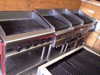 COMMERCIAL CATERING FLAME CHARCOAL GRILL FOR PERI PERI CHICKEN BARBECUES RESTAURANT CAFE BAR TAKEOUT