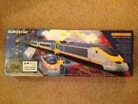 Hornby Eurostar electric train set