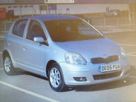 2005/05 TOYOTA YARIS 1.3 COLOUR COLLECTION 5 DOOR SILVER HPI CLEAR
