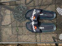 Size 7 Navy Blue Ellesse Flip flops/sliders