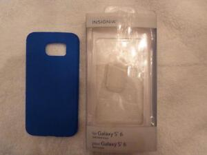 Insignia Galaxy S6 Edge Fitted Soft Shell Case - Blue