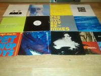 50 x pet shop boys vinyl collection promo's , remixes , limited editions bobby o , double packs
