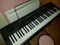 Casio lk 160 keyboard and stand