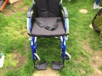 Enigma wheelchair only used for 1 week