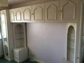 Ivory wardrobe set