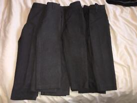 Grey school trousers age 4-5 / 5 years