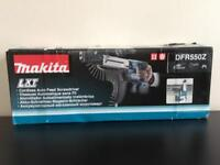 MAKITA DFR550z LXT 18v Li-Ion CORDLESS AUTOFEED SCREWDRIVER