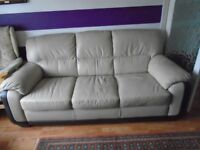 3 Seat Sofa Leather