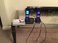 BT8500 Advance Call Blocker twin set home phone