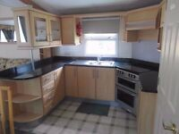 2004 Willerby Aspen Static Caravan for sale, 37x12, central heating and double glazed