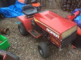 Roper ride on lawn mower 12hp ic