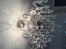 Ceiling chandelier aurora borealis crystal