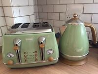 Toaster & Kettle for a home