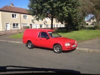 Ford escort Swap for Transit size van