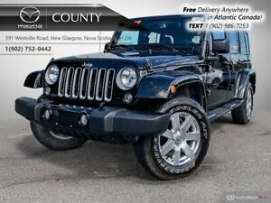 2017 Jeep Wrangler Unlimited $133/WK+TAX! SAHARA! AUTO! HARD+SOF