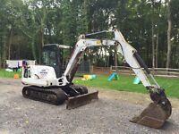 5 ton bobcat digger