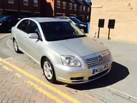 Forsale nice family car Toyota avensis 55 plate in 2006 model diesel 4dr saloon in perfect condition