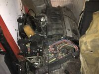 BMW E30 M50 2.5 single vanos engine and gearbox conversion package