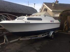 Shetland 570 inboard diesel boat