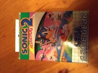 Sega Game Gear Sonic The Hedgehog 2
