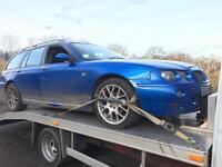 Mg ZT estate petrol 51 reg braking