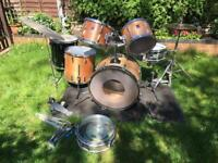 Vintage Custom Premier Drum Kit
