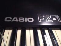 Casio FZ-1 Sampler Sampling Keyboard Aphex Twin etc, Analog Filters, like Akai S950 Emu SP-1200 SP12