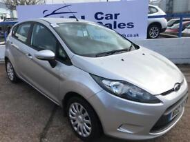 FORD FIESTA 1.4 EDGE 5d 96 BHP A GREAT EXAMPLE INSIDE AND OUT (silver) 2012