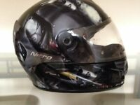 MOTORCYCLE HELMET NITRO PANTHER BIKE HELMET SIZE L 60