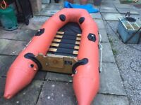 Inflatable tender ax2 2.4 bombard