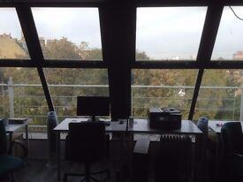 2 Desks in Brixton Shared Office