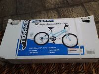 Brand new girls 20'' mountain bike