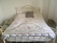 Laura Ashley Double bed frame only