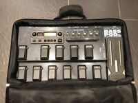 Bass POD XT Live with power supply and gig bag